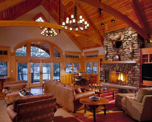 Southern Maine Adirondack Style Lake House