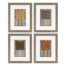 "Montgomery Artwork, Set of 4, 18""x23"""