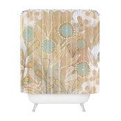 Cori Dantini Blue Floral Shower Curtain