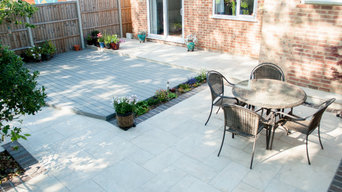 Contemporary Decking and Patio