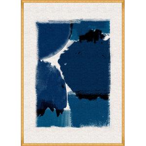 """Indigo Marvel Left"" Fine Art Print, 100x70 cm"
