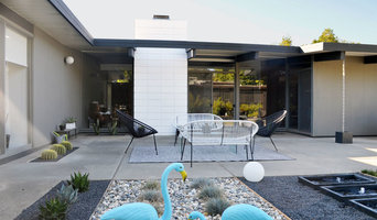 Eichler patio landscaping