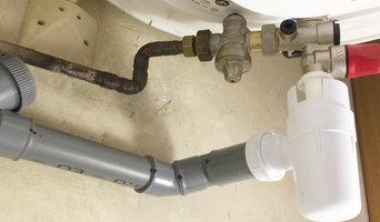 Remplacement d'un groupe de sécurité et installation d'un réducteur de pression