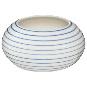 Anne Black Stripes Sugar Bowl