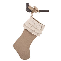 Farmhouse Christmas Stockings And Holders by Fennco Styles, Inc.