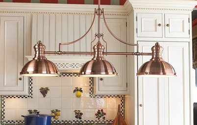 Product Picks Guest Picks: Dashing Lighting for Over the Kitchen Island - Need Help: Are Pendant Lights Over 'moveable' Kitchen Island A No-no?