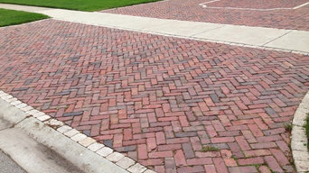 Oak Park Residence - Reclaimed Pavers