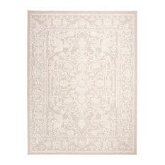 Safavieh Reflection Collection RFT665 Rug, Cream/Ivory, 9' X 12'