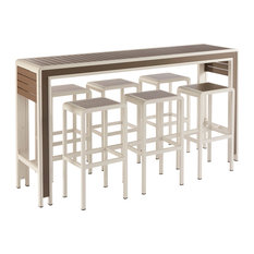 A.R.T. Home Furnishings Cityscapes Outdoor Chrysler BAR Set
