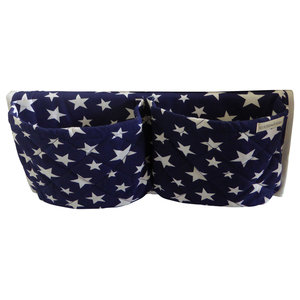 Blue Star Bedside Pocket Organiser