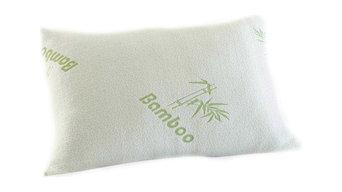 Bluff City Bedding, Luxury King Bamboo Comfort Memory Foam Pillow, Set of 2