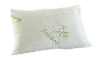 Bluff City Bedding, Premium King Bamboo Comfort Pillow, Stay Cool, Set of 2