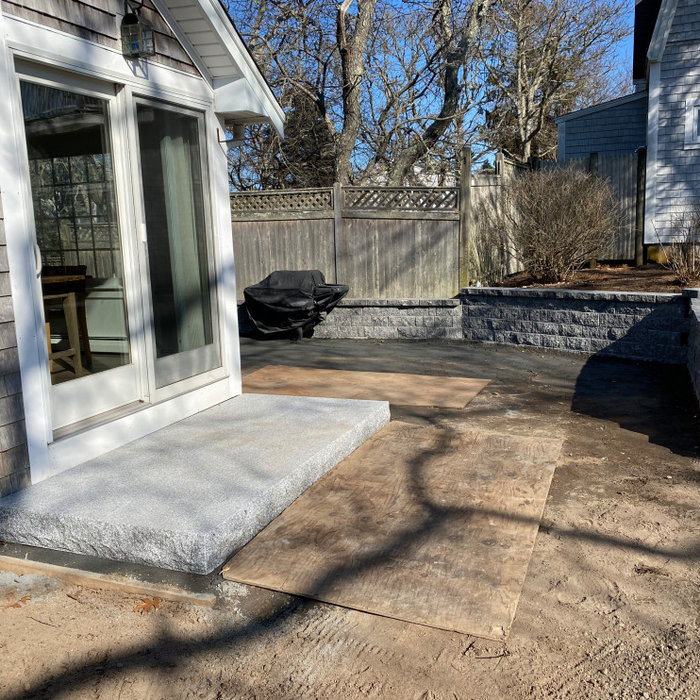 Harwichport Stone Patio Design