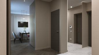 Дизайн проект частной квартиры