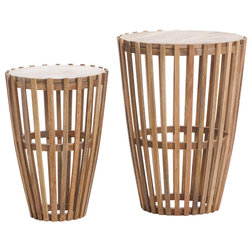 Rustic Side Tables And End Tables by GDFStudio