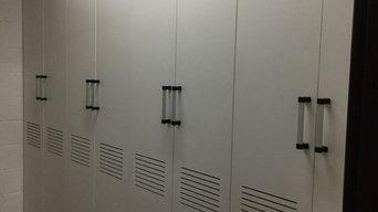 Athletic Field House Sport Team Uniform Storage