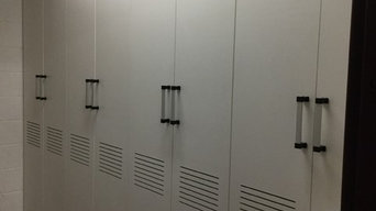 Athletic Field House Sport Team Uniform Storage