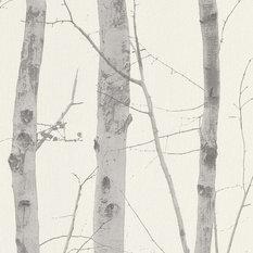 Birch Trunks Wallpaper