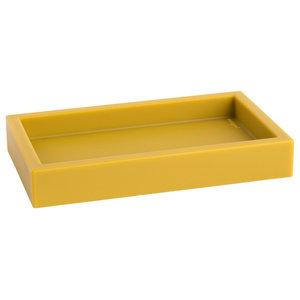 Ivasi Bathroom Tray, Mustard