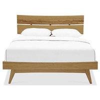 Azara Queen Platform Bed by Greenington - Caramelized