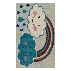 """Loloi Skylar Collection Rug, Rainbow, 2'3""""x3'9"""""""