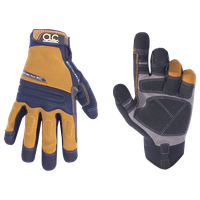 CLC Work Gear Mocha Brown and Black Medium Landscaper Gloves
