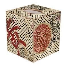 TB2517 - Asian Fret Tissue Box Cover