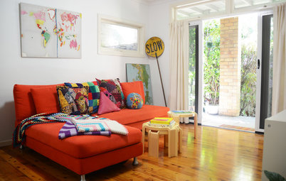 My Houzz: An Artist Maps Out Her Own Haven of Happiness