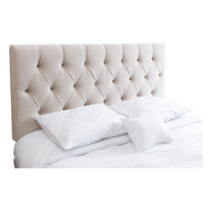 Abbyson Living Connie Tufted Headboard, Queen/Full, Ivory
