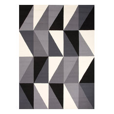 Jaipur   Extra Large Grey Right Angle Outdoor Rug   Outdoor Rugs