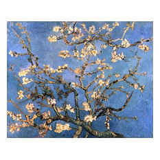 """Vincent Van Gogh A Branch With Almond Blossom, 20""""x25"""" Wall Decal"""
