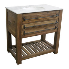 "36"" Reclaimed Pine Single Bath Vanity"