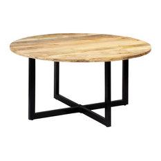"vidaXL Solid Mango Wood Dining Table 59.1"" Kitchen Breakfast Stand Furniture"