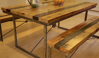Saxon Dining Table with Benches