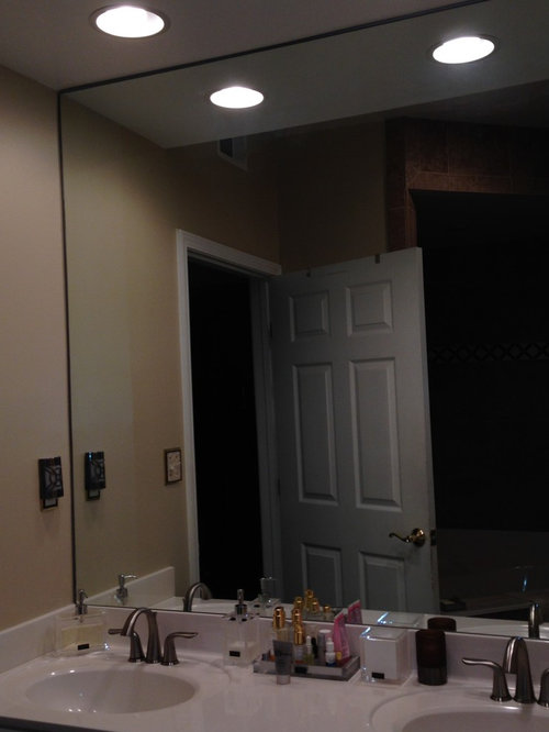Small Bathroom Mirror Selection Covering Wall Or 2