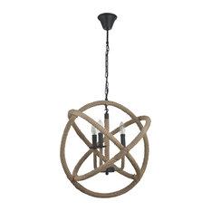 Mundo Corda Sphere Pendant Light