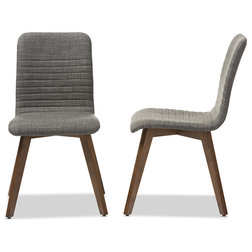 Midcentury Dining Chairs by Baxton Studio