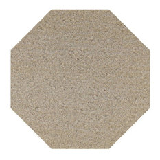 Saturn Collection Pet Friendly Area Rugs, Beige, 6' Octagon