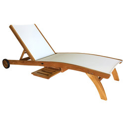 Transitional Outdoor Chaise Lounges by Chic Teak