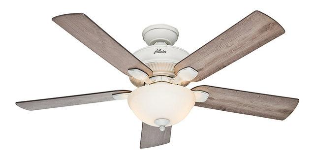 Hunter fan co matheston ceiling fan with light traditional hunter fan co matheston ceiling fan with light aloadofball Gallery