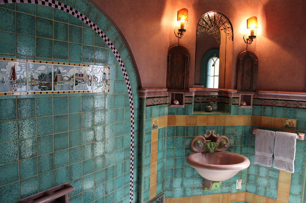 Room of the Day: A Luxurious Master Bath in Pasadena