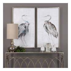 Uttermost Summer Birds Framed Art, Set of 2