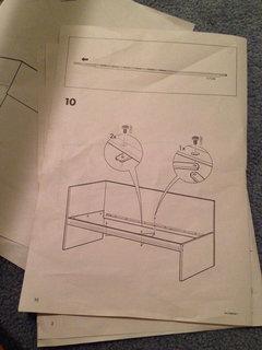 flaxa bed ikea instructions