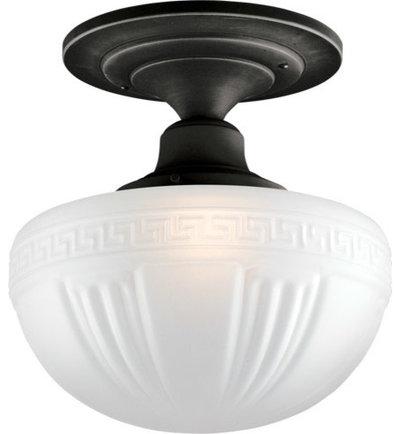 Traditional flush mount ceiling lighting by rejuvenation
