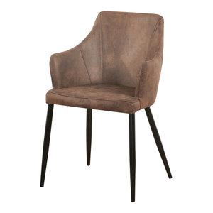 Zarah Chair Dining Chair, Brown