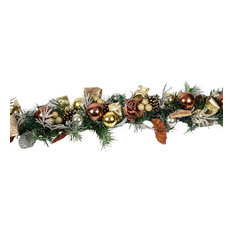 Precious Metal Christmas Room Decoration Collection, 1.5 m Garland