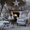 白を基調にして大人っぽく。シンプルなホワイトクリスマスデコレーション