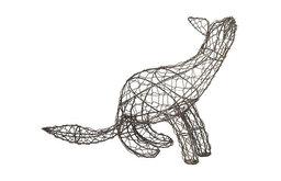 Black Chicken Wire Fox