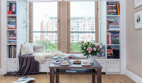 Просто фото: Шкафы вокруг окна — 22 варианта