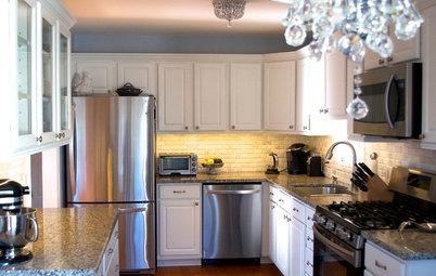 DIY Spirit and $8,700 Transform a Townhouse Kitchen